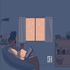 LimePalmtree | afrodesiacworldwide: IG-@sevilletheartist. Rainy...