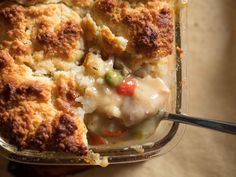 Chicken Pot Pie With Buttermilk Biscuit Topping Recipe | Serious Eats