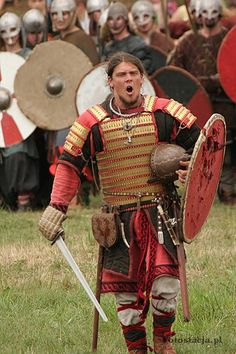 wyrdsister: Igor Górewicz, a well-known Polish Viking reenactor.