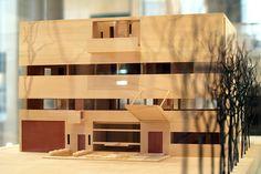 Villa Stein de Monzie model front - Le Corbusier, architectural model
