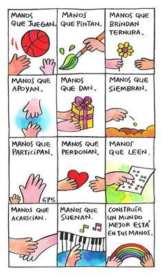 Para que sirven las manos