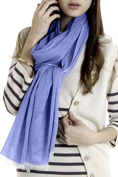 House of Mai Cashmere Blend Summer Scarf  http://www.searlenyc.com/store/product6323.html