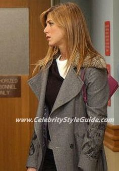 Friends Style and Fashion - Louis Alvera Barcelona Coat - Celebrity Style Guide