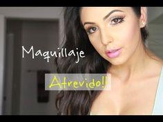 Maquillaje atrevido/ maquillaje dramático .. - YouTube
