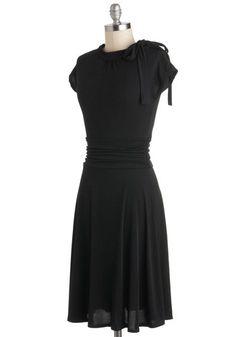 Dance Floor Date Dress in Midnight   Mod Retro Vintage Dresses   ModCloth.com