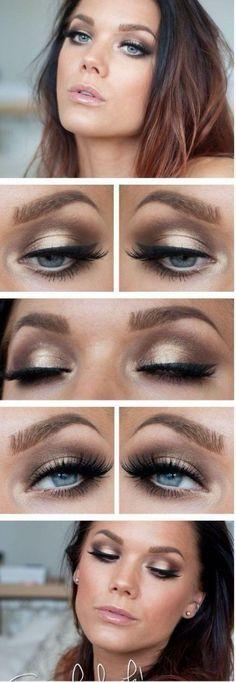 10 tutoriels de maquillage des yeux pour la fête de fin dannée 2014