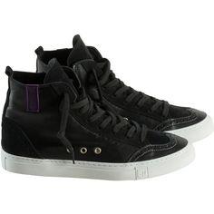 RUBIROSA - Ariza Black ($370) ❤ liked on Polyvore featuring men's fashion, men's shoes, men's sneakers, shoes, mens black leather shoes, mens black sneakers, mens shoes, mens leather sneakers and mens leather shoes