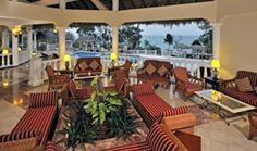 Royal Service lobby at Paradisus rio de oro in Holguin cuba...one of the best resorts we ever stayed at