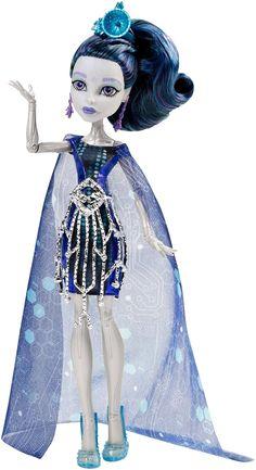 "Monster High, Boo York, Boo York - Gala Ghoulfriends Elle Eedee fashion doll. Монстр * Монстер Хай, кукла Элль * Элли Иди базовая из серии ""Бу-Йорк, Бу-Йорк: Праздничные Монстродрузья"""