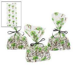 $6.50 for 12 PALM TREE CELLOPHANE BAGS (1 DOZEN) - BULK Fun Express http://www.amazon.com/dp/B007BD82XG/ref=cm_sw_r_pi_dp_qcWpub0M2VZXR