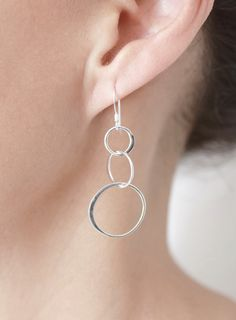 NEW Sterling Silver Tango Earrings