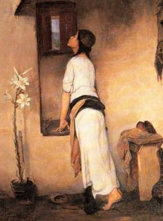 The Waiting by Nikiphoros Lytras (Greek, 1832 - 1904)