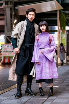 The Best Street Style From Tokyo Fashion Week Fall 2018 Street Style 2018, Asian Street Style, Tokyo Street Style, Street Style Trends, Japanese Street Fashion, Tokyo Fashion, Harajuku Fashion, Cool Street Fashion, Trendy Fashion