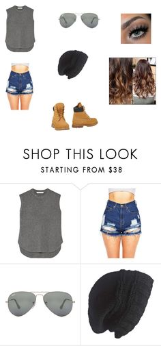 """""""Untitled #11"""" by jess-sanchez ❤ liked on Polyvore featuring Alexander Wang, Ray-Ban, Laundromat and Timberland"""