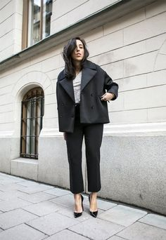 4 Ways To Style The Cropped Black Trouser