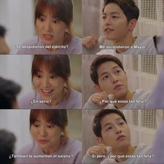 Image about funny in Memes by anayamisam on We Heart It Hau Due Mat Troi, Decendants Of The Sun, Parejas Goals Tumblr, Song Joon Ki, Good Morning Call, Songsong Couple, Prison Life, Weightlifting Fairy Kim Bok Joo, Kdrama Memes