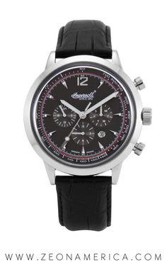 Just because you're a nice guy, doesn't mean you can't have rocking style! The Ingersoll Watches USA San Antonio is the perfect place to start if you are looking to add a bit of flair to your evolving style! Fashion Watches, Watches Usa, Watches For Men, Ingersoll Watches, Automatic Watch, San Antonio, Perfect Place, Accessories, Black