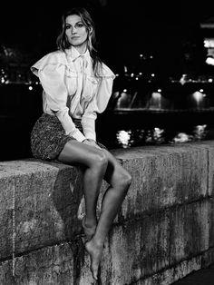Gisele Bundchen by Karl Lagerfeld for Chanel S/S 2015 Chanel 2015, Gisele Bundchen, Karl Lagerfeld