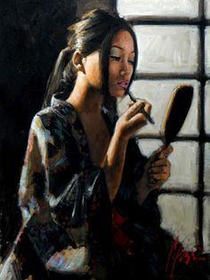 fine artistic geisha art   Visions Fine Art Gallery - Sedona Arizona - Fabian Perez