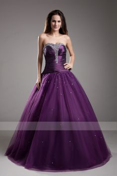 Hot Ball Gown Beading,Sequined Organza Quinceanera Dresses