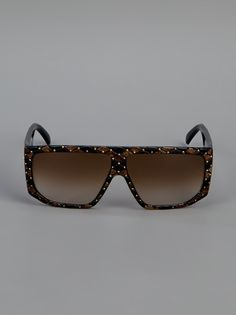 HELENA RUBINSTEIN VINTAGE  RECTANGULAR FRAME SUNGLASSES  farfetch from A.N.G.E.L.O Vintage  available from farfetch.com •ƒƒ•