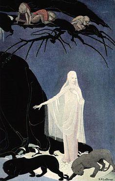 Illustration for The Three Mulla-mulgars - Dorothy Lathrop