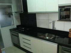 sala com piso porcelanato e cozinha americana - Pesquisa Google