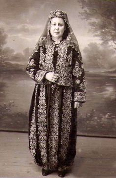 Folk Costume, Costumes, Historical Pictures, Traditional Outfits, Kaftan, Culture, Clothes, Dresses, Style
