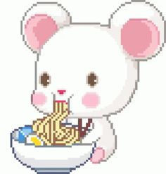 The perfect Kawaii Love Animated GIF for your conversation. Discover and Share the best GIFs on Tenor. Kawaii Chibi, Anime Kawaii, Kawaii Cute, Kawaii Diy, Gifs, Leprechaun, Imagenes Gift, Pixel Art, Shared Folder