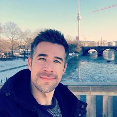 Eiskalt aber super schön - Grüße vom Shooting in Berlin(Jo Weil)