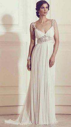 Runway trend: Anna Campbell Wedding Dresses