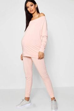 23318d19c82 Maternity Fiona Slash Neck Top + Jogger Set. Carly Susanne · Maternity Wear