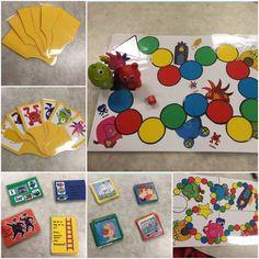 Specialpedagogik i förskolan: Babblarspel med variation och anpassning Kids Playing, Preschool, Teaching, Blogg, Matte, Inspiration, Om, Tips, Speech Therapy