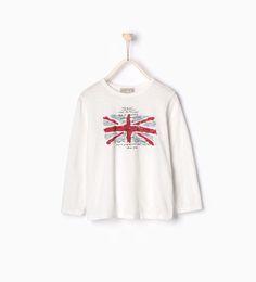 旗幟圖案 T 恤