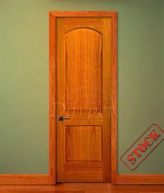 2 Panel Arch Red Oak 8\u0027-0\