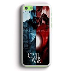 Captain America Civil War iPhone 5C Case | Aneend - Visit to grab an amazing super hero shirt now on sale!