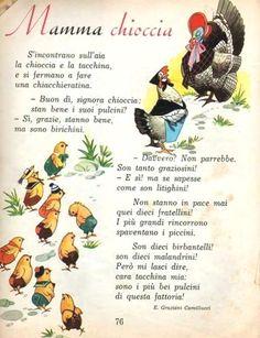 Vintage Christmas Cards, Vintage Cards, Italian Language, Learning Italian, Reading Material, Old Postcards, Vintage Italian, Nursery Rhymes, Education
