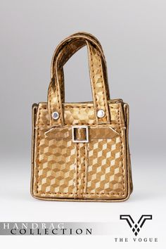 HB2003-11 The Vogue Gold Design Pattern Leather Designer Hobo Handbag