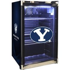 Ncaa Refrigerated Beverage Center, 4.6 cu ft, Brigham Young Universty, Multicolor