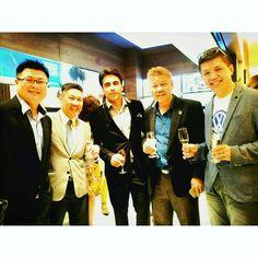 5 spice men  @ Aveda Lifestyle Salon grand opening.  #NickG #entrepreneurs #Aveda #celebration #grandopening #lifestyle #friends