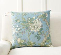 Jaya Floral Print Pillow Cover