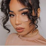 This look is just so dreamy--soft peach hues on the eyes and terracotta nude on the lips, it's a perfection combination on  @symphanisoto. Want to know what's the best nude lipstick for you? Details are on the BIO!
