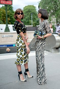 oooh what's their names... double the fab. sisters in Paris.