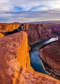Another angle and composition of a photographer I captured at Horseshoe Bend in Arizona. This shot has a little more light on the canyon walls than my earlier posting. Relaxing Places, Colorado River, Places Of Interest, Natural Wonders, New Mexico, Closer, Arizona, Explore, Nature