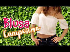 2 BLUSAS CAMPESINAS HECHAS POR TI, SIN COSER Y COSIENDO - Lau - YouTube