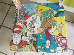 Custom Decoupage Dr. Seuss Chair