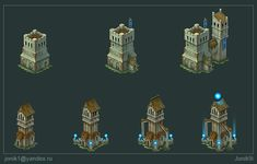 Buildings for game Part 5 by Jonik9i.deviantart.com on @DeviantArt