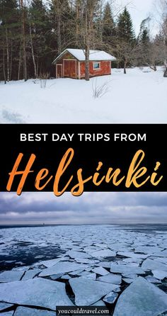 Best day trips from Helsinki - Are you a soft adventure lover and want to escape the city for a few days? We put together the best day trips from Helsinki tailored to the city and outdoors lovers. Explore Tallinn, Nuuksio National Park and even Russia! #helsinki #outdoors #daytrips