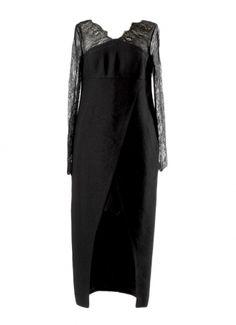 CHANEL Robes longues / Noir / 40 (L, T3) FR / Laine mélangée / Automne - Hiver