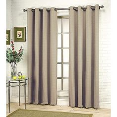 This is my curtain choice for the living room. Thinking of the SKY color for the dining room.